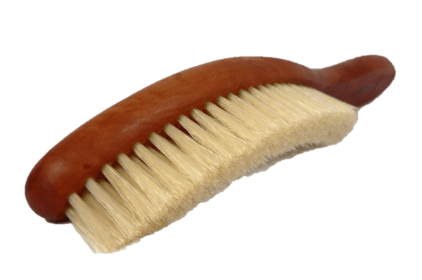 Classic Cleaning Hat Brush – Pear Wood / Boar Hair by Valentino Garemi - valentinogaremi-usa