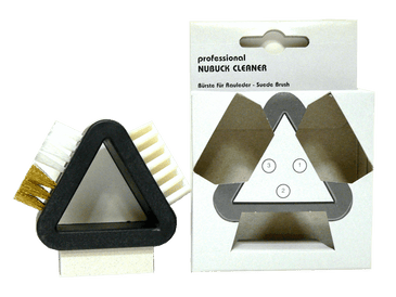 Suede and Nubuck Cleaner Triangular Brush by Valentino Garemi - valentinogaremi-usa