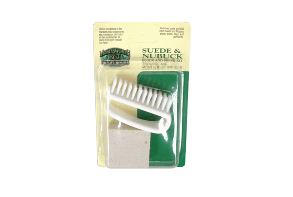 Suede - Nubuck Block & Brush Kit - valentinogaremi-usa