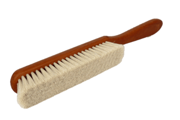 Dandruff & Lint Cleaning Brush – Fine Goat Hair by Valentino Garemi - valentinogaremi-usa