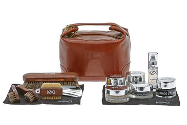Luxury Shoe Shine Kit – Ultimate Gift Leather Care Set by IEXI Italy - valentinogaremi-usa