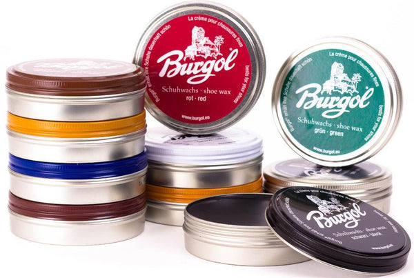 Shoe Wax Polish Paste – Leather Shine Palmenwachsschuhcrème by Burgol - valentinogaremi-usa