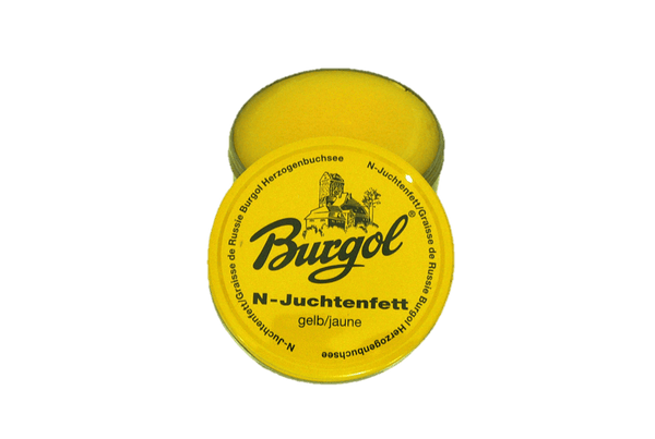 Waterproof Leather Paste Wax – Shoes & Garments Juchtenfett by Burgol - valentinogaremi-usa