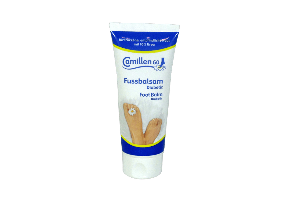 Foot Balm Diabetic with 10% Urea by Camillen 60 Germany - valentinogaremi-usa