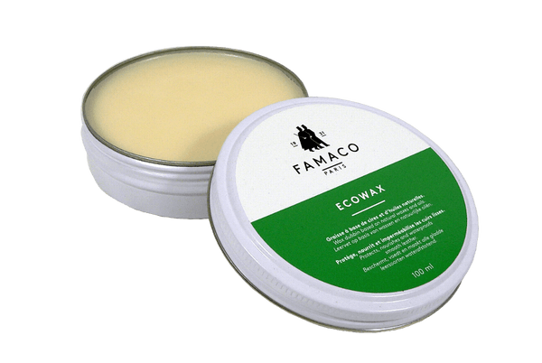 Shoe Dubbin Paste - Natural & Organic Leather Wax by Famaco France - valentinogaremi-usa