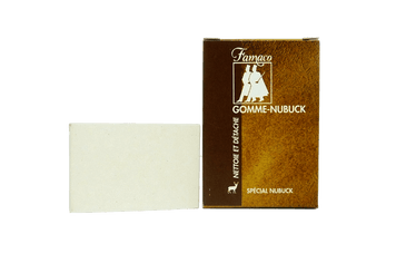 Gum Eraser for Nubuck Footwear & Garments by Famaco France - valentinogaremi-usa
