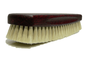 Cleaning Buffing Brush – Genuine Soft Goat Hair by Valentino Garemi - valentinogaremi-usa