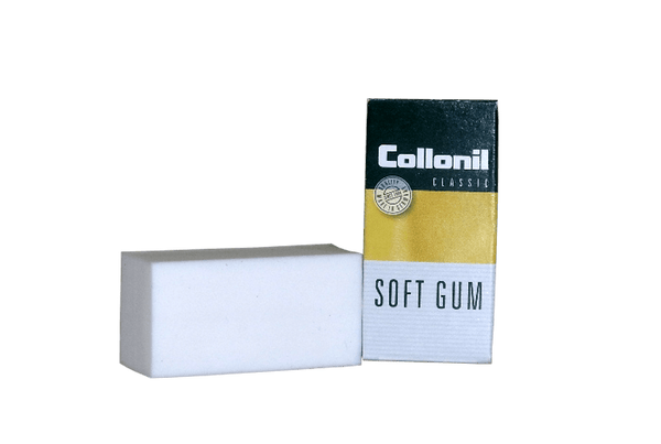 Classic Suede Cleaner - Soft Rubber Gum for Napped Leather by Collonil - valentinogaremi-usa
