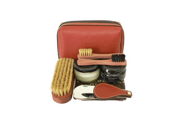 Luxury Shoe Care Set - Clipper from La Cordonnerie Anglaise - Made in France - valentinogaremi-usa