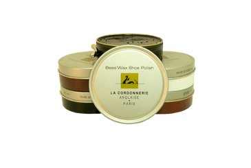Shoe Polish Paste with Beewax - Luxury Shoe Care by La Cordonnerie Anglaise France - valentinogaremi-usa
