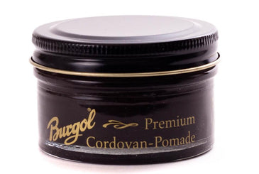 Cordovan Leather Cream Shoe Polish -Pomade Premium by Burgol Germany - valentinogaremi-usa