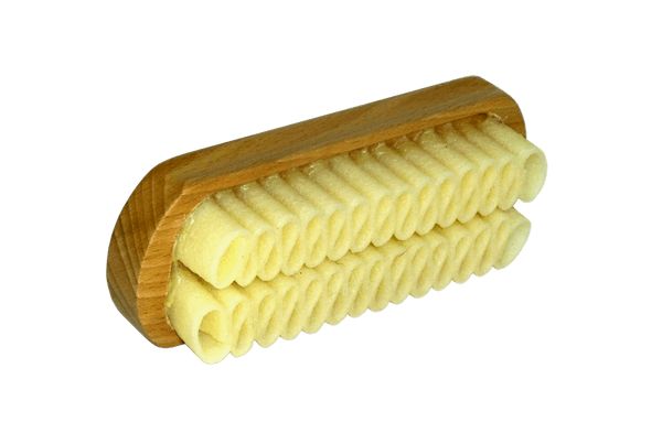 Suede Cleaning Brush - Real Crepe with Hardwood Handle by Saphir France - valentinogaremi-usa