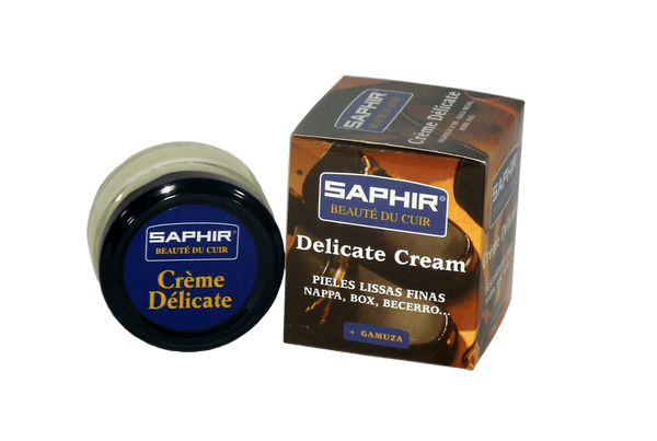 Delicate Leather Cream - Cleaner and Conditioner by Saphir France - valentinogaremi-usa