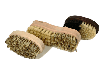 Kitchen Cleaning Brushes for Veggies Fruits & Clam by Valentino Garemi - valentinogaremi-usa
