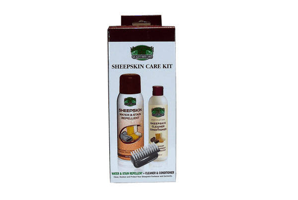 Sheepskin Care Kit by Moneysworth & Best - valentinogaremi-usa