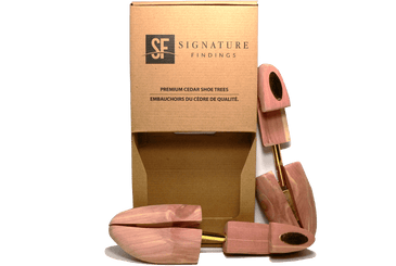 Signature Shoe Tree – Premium Aromatic Red Cedar - valentinogaremi-usa