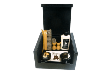 Luxury Shoe Care Kit - Leather Care Gift Set Renoir By Famaco - valentinogaremi-usa