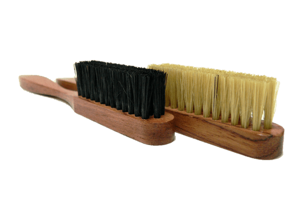 Shoe Edge Cleaning Brush - Bubinga Wood Handle - by Famaco France - valentinogaremi-usa