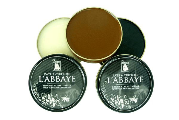 Shoe Polish Paste - Leather Shine Paste L'Abbey By Famaco France - valentinogaremi-usa