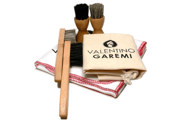 Leather Shoe Paste Cream Applicator & Dauber Set by Valentino Garemi - valentinogaremi-usa