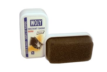 Shoe Shine Instant - Mini Travel Sponge by Woly Germany - valentinogaremi-usa