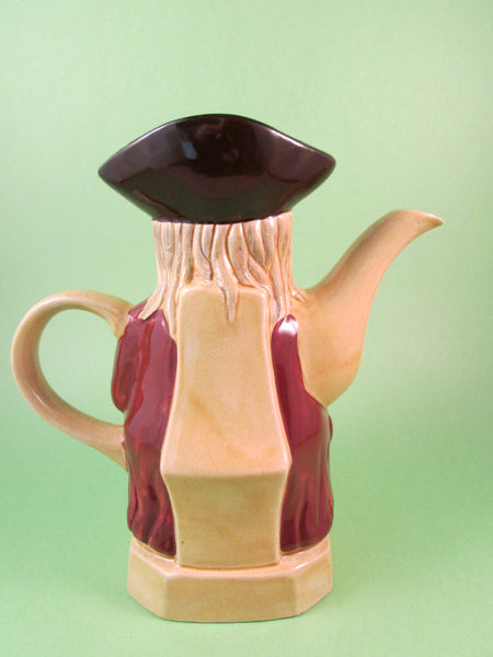 Vintage HJ Wood Toby Teapot Made in England