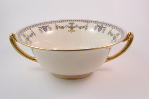Vintage Lenox China Berry Bowl with Handles The Colonial Pattern Elegant Entertaining Serving Bowl
