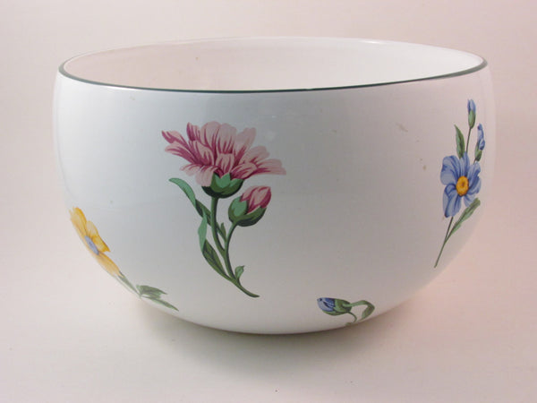 Vintage Tiffany and Company Sintra Serving Bowl White with with Flowers
