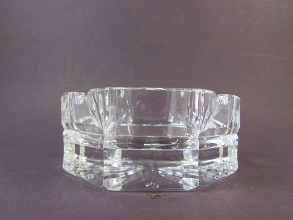 Vintage Waterford Crystal Octagon Shaped Ashtray