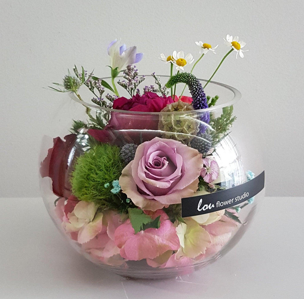 Flowers in a Bowl - Lou Flower Studio
