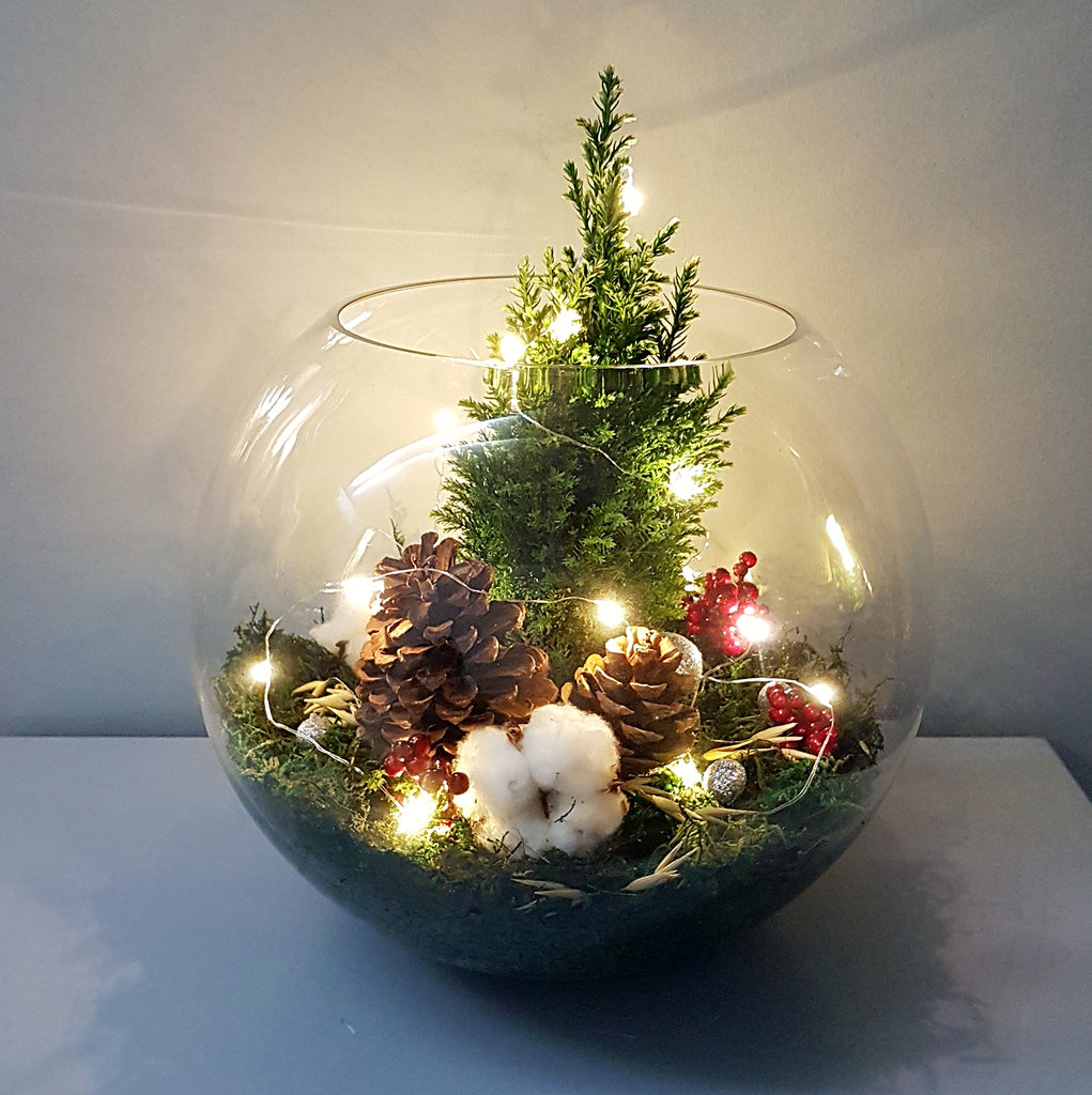 Christmas Tree Bowl - Lou Flower Studio