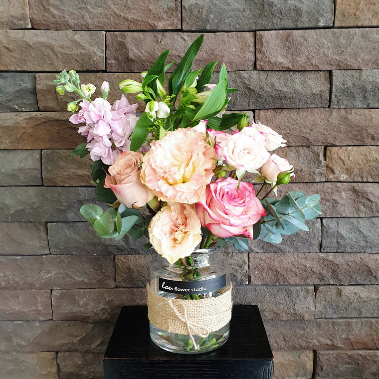 Petite Posy in a Jar - 26 Aug 19