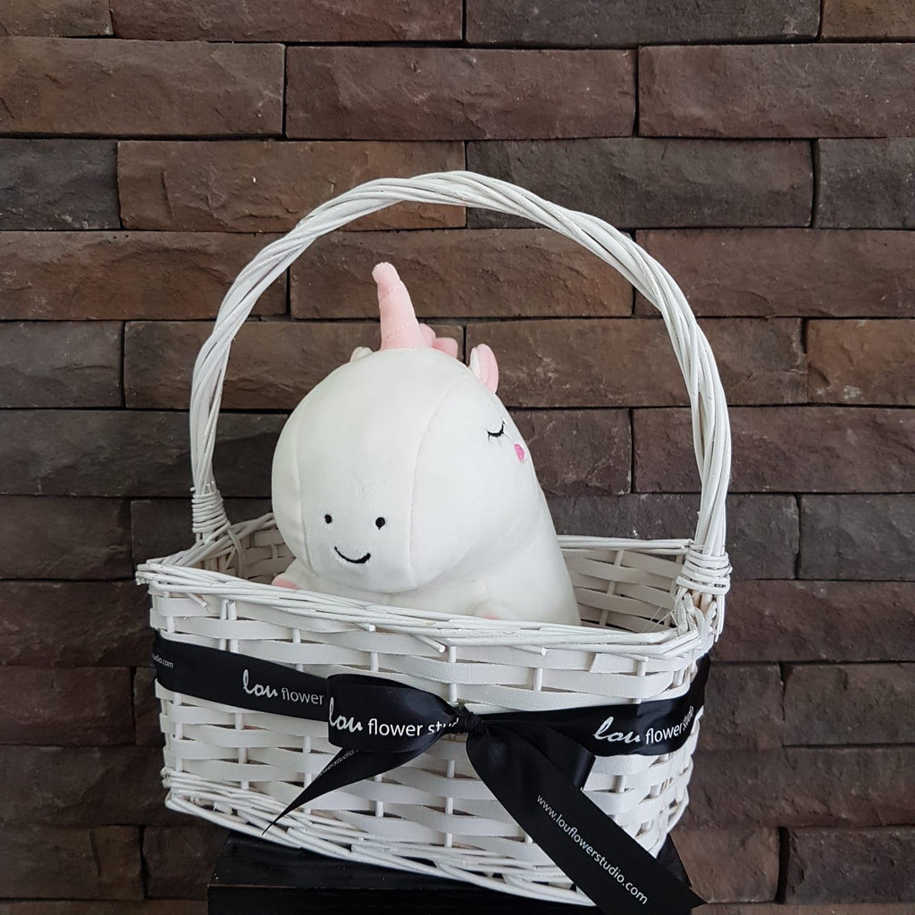 Unicorn in a Basket