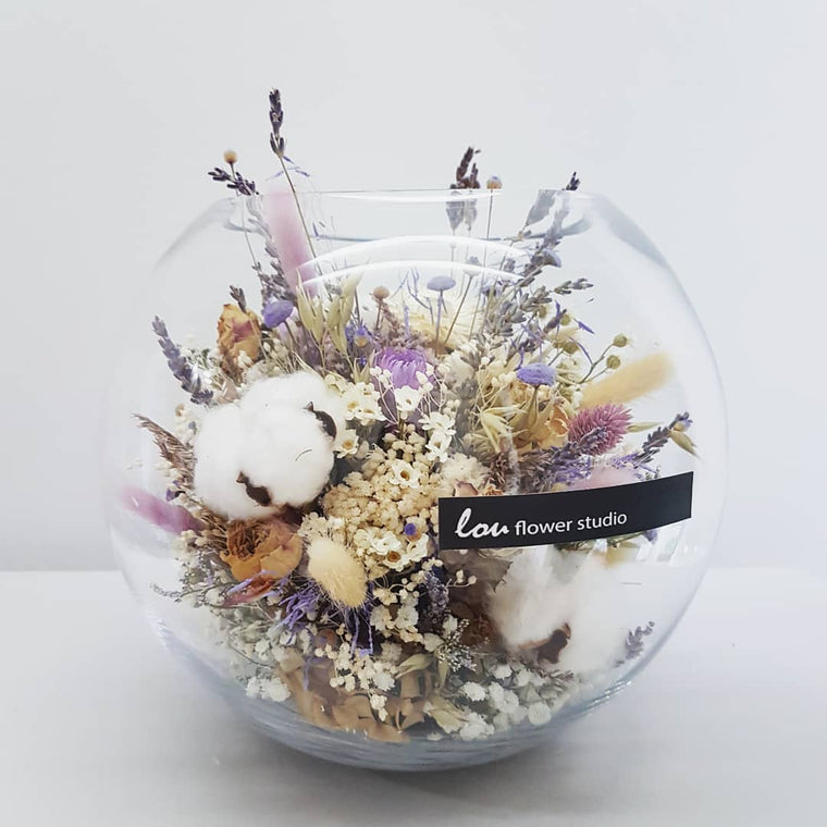 Everlasting Fishbowl - Lou Flower Studio