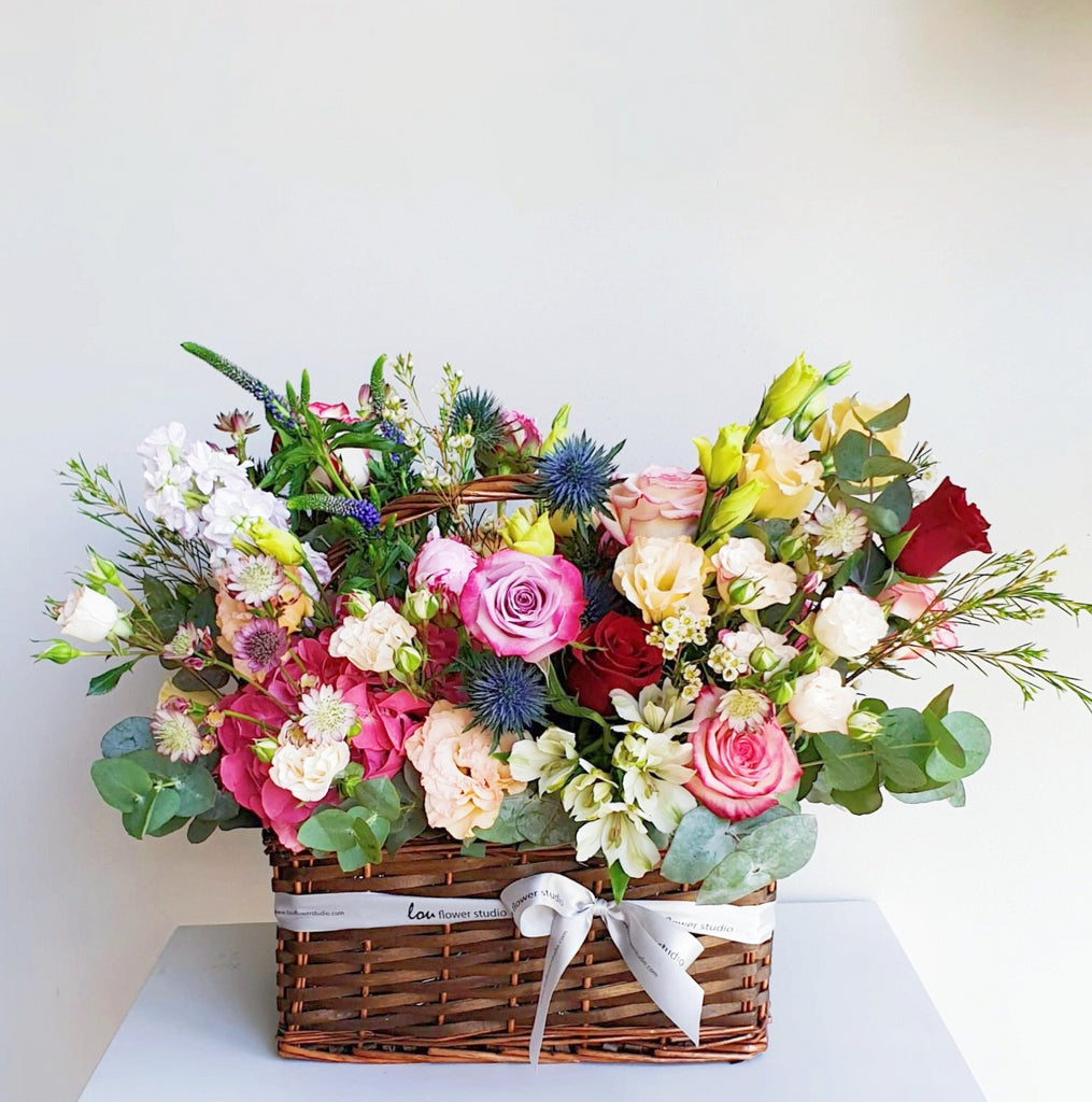 Oversized Garden Basket - Lou Flower Studio
