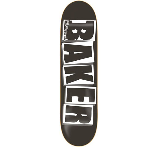 BAKER (BLACK LOGO) DECK 8.0""