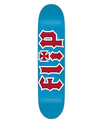 Flip (Team HKD) Deck Blue/Red 7.875