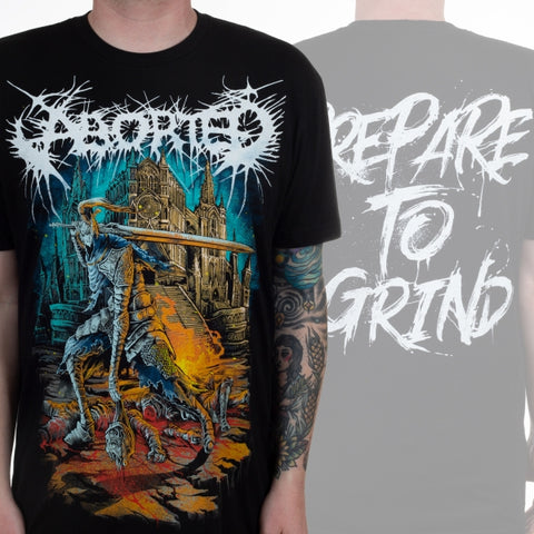 ABORTED (PREPARE TO GRIND) T-SHIRT