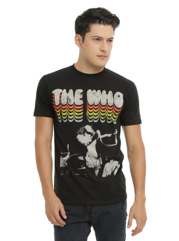 THE WHO (LIVE SHOT) T-SHIRT