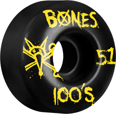 BONES 100'S OG SKATE WHEELS (ASSORTED)