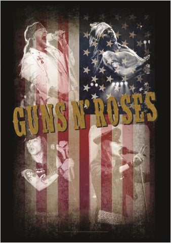 GUNS N ROSES (COLLAGE) FABRIC POSTER
