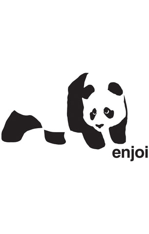 ENJOI (PANDA VINYL) STICKER