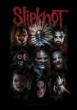 SLIPKNOT (DIABOLIC) FABRIC POSTER
