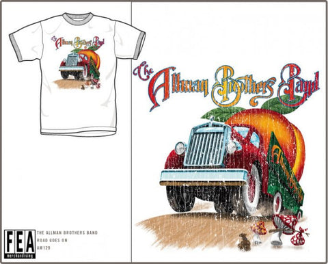ALLMON BROTHERS (ROAD GOES ON FOREVER) T-SHIRT