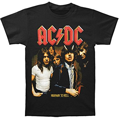 AC/DC (HIGHWAY TO HELL) T-SHIRT