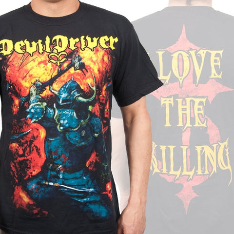 DEVILDRIVER (WARRIOR) T-SHIRT