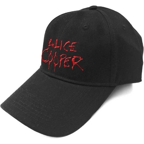 ALICE COOPER (DRIPPING LOGO) BASEBALL CAP