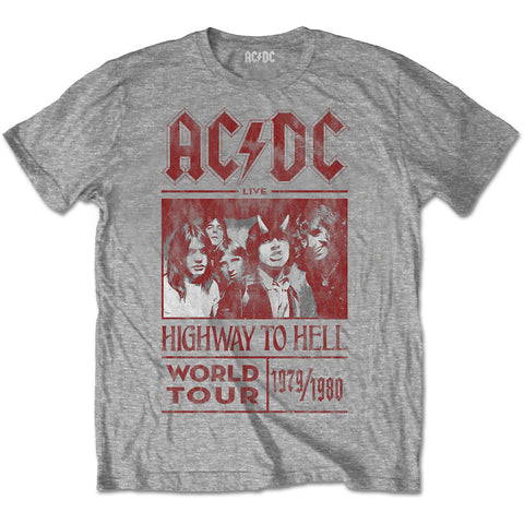 AC/DC (HIGHWAY TO HELL WORLD TOUR 1979/1980) T-SHIRT