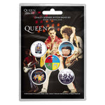 QUEEN BUTTON BADGE PACK: LATER ALBUMS