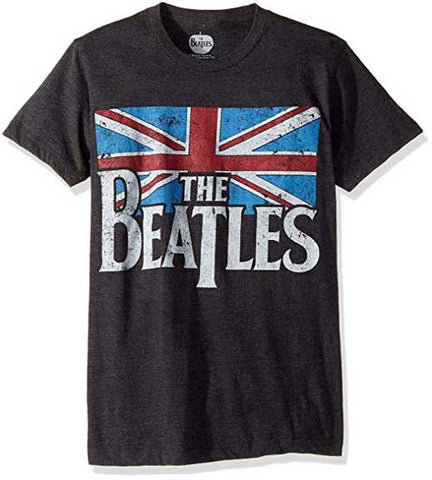 THE BEATLES ( BRITISH FLAG T-SHIRT)